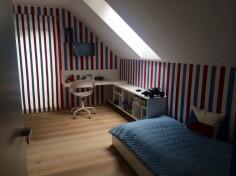 Dětský pokoj ve stylu trikolory