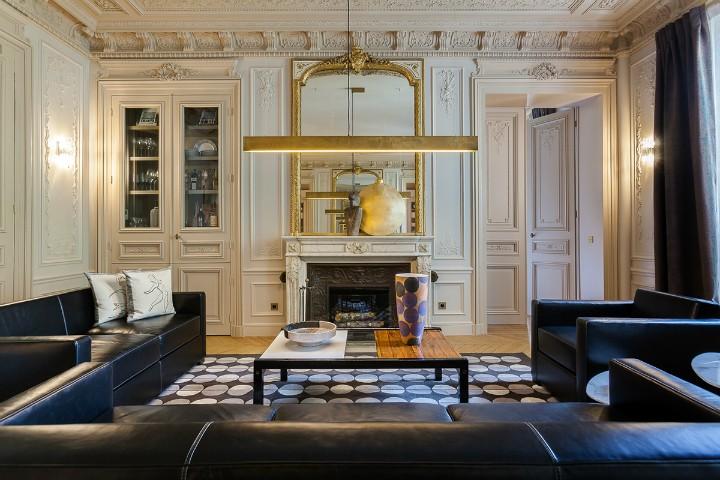 Majestátní obývací pokoj