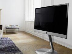 Obývací pokoj s moderními technologiemi