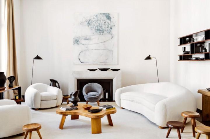 Artistický obývací pokoj