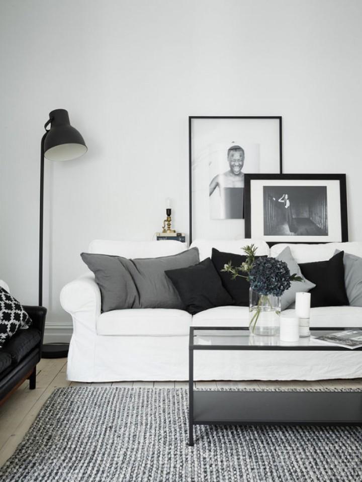 Klasika v obývacím pokoji