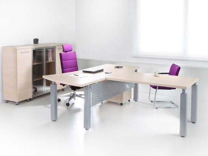 Vzdušná kancelář s nábytkem NO+BL