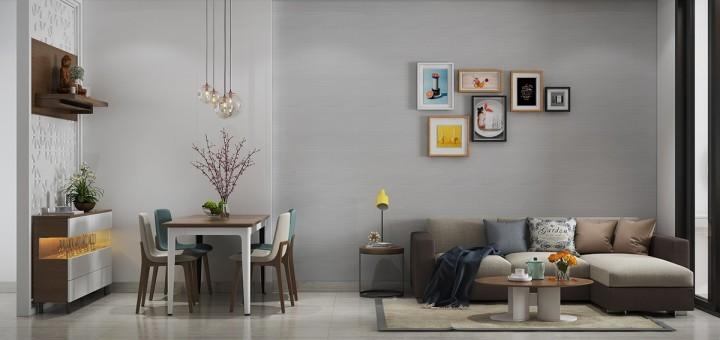 Malý interiér ve velkém stylu