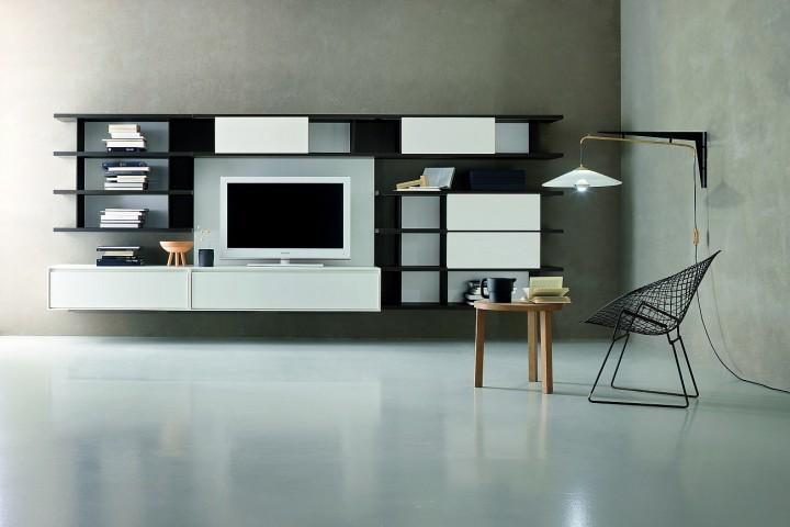 Luxusní TV stěna