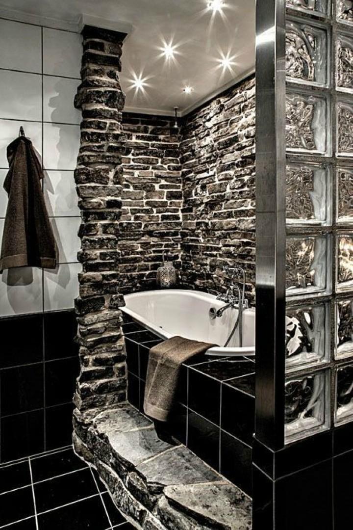 Koupelna z kamene