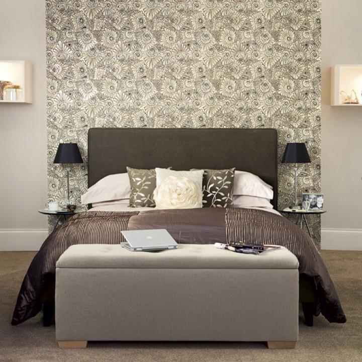 Ložnice inspirovaná hotelovým stylem