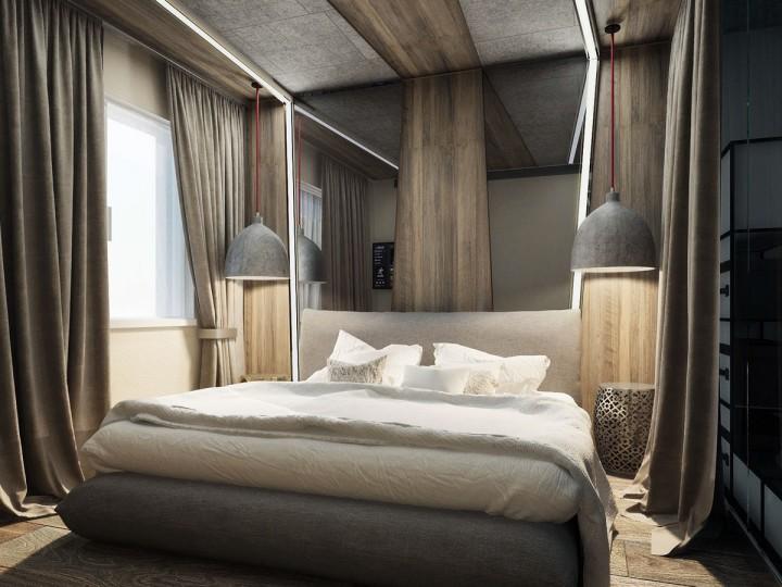 Krásná a útulná ložnice