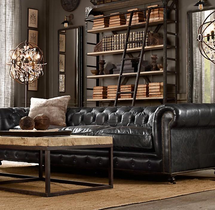 Osobitý nábytek v obývacím pokoji