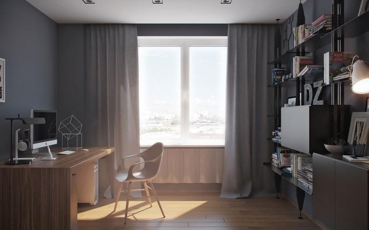 Stylová domácí kancelář