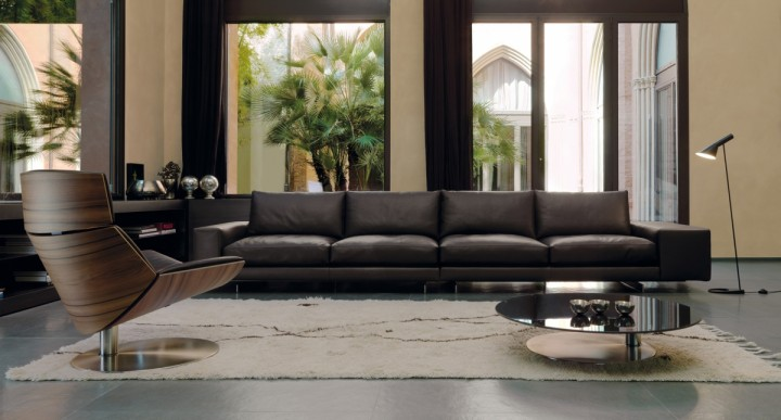 Luxusní obývací pokoj pro náročné