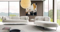 Vyvážený obývací pokoj