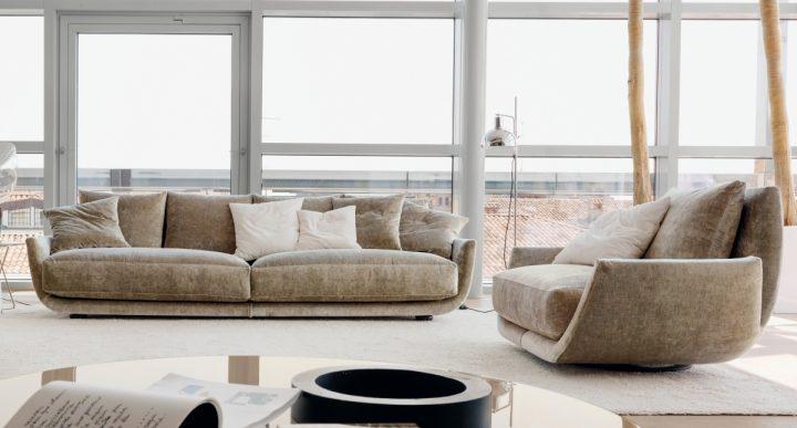 Nedbalá elegance v obývacím pokoji