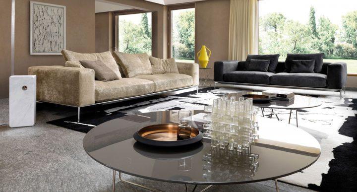 Elegantní obývací pokoj