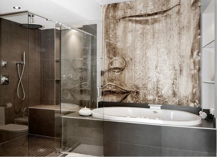 Moderní a stylová koupelna