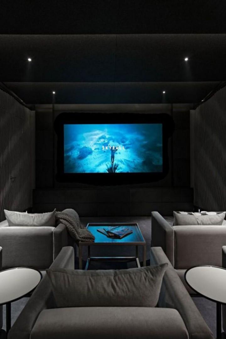 Kino v šedých tónech