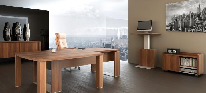 Elegantní nábytek v kanceláři