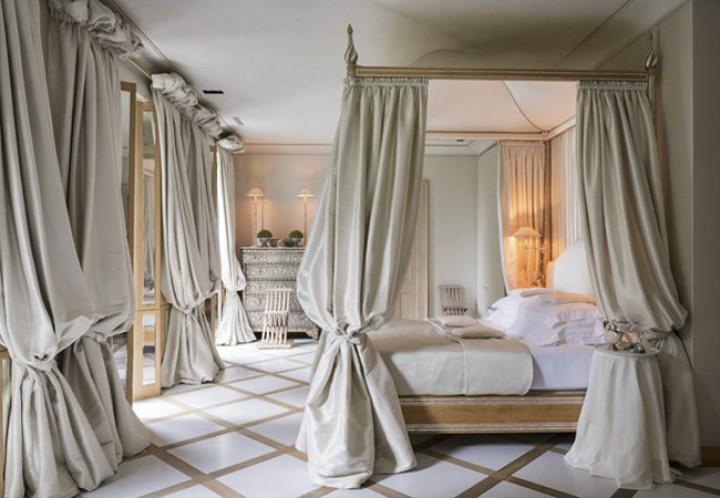 Ložnice ve francouzském stylu