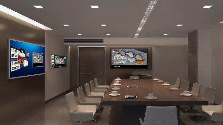 Multimediální zasedací místnost