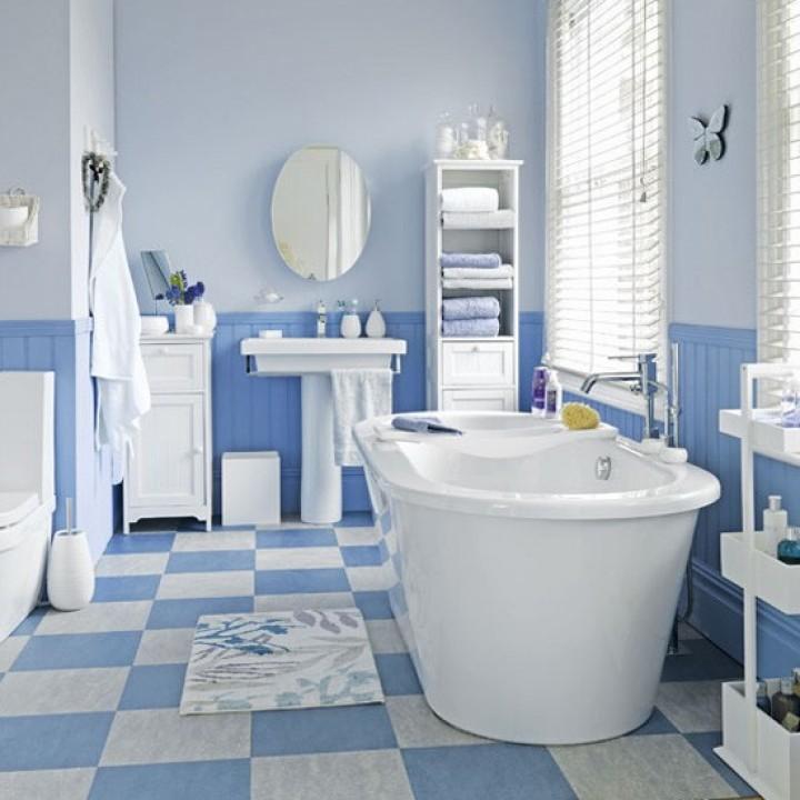 Koupelna inspirovaná mořem