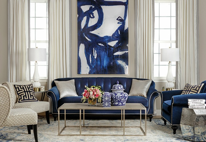 Pokoj v luxusním stylu