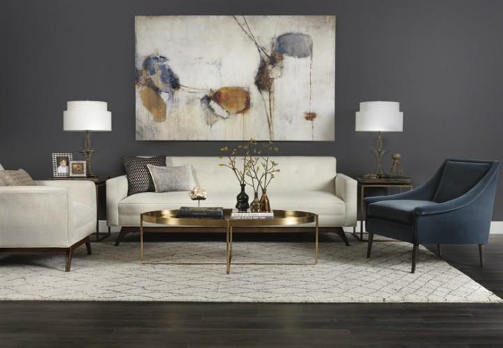 Elegance a styl v obývacím pokoji