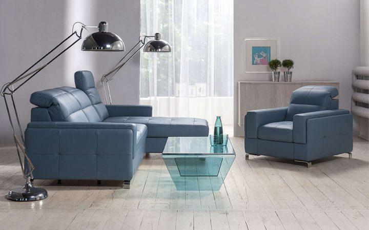 Moderní interiér ve studených odstínech