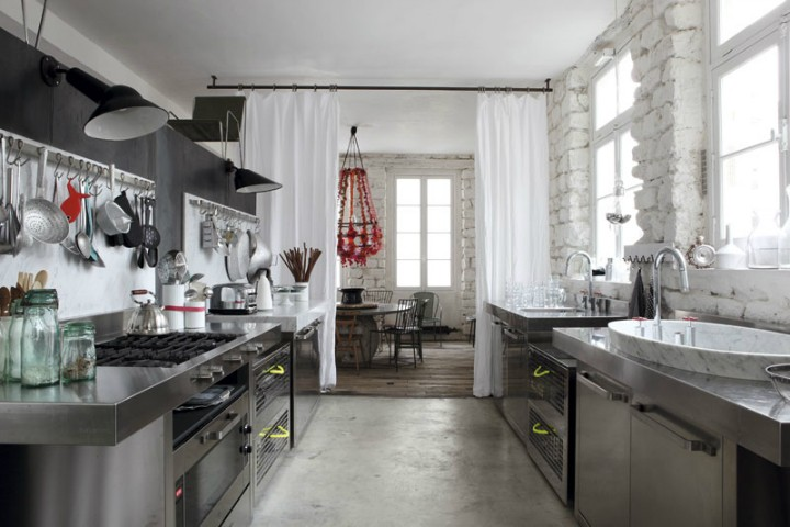 Přírodní materiály v kuchyni