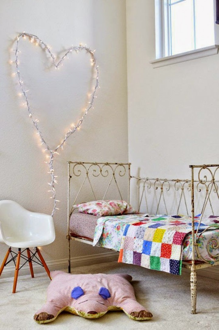 Ložnice jako z francouzské Provence