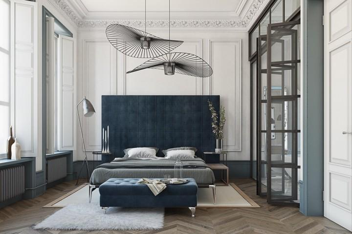 Sofistikovaná ložnice