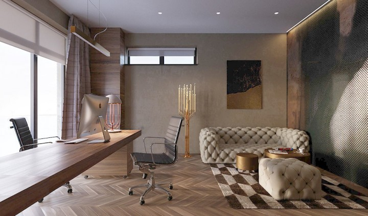 Luxusní home office