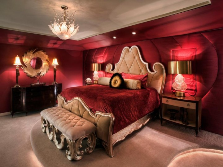 Ložnice v Art Deco stylu