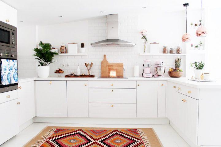 Koberec se hodí i do kuchyně