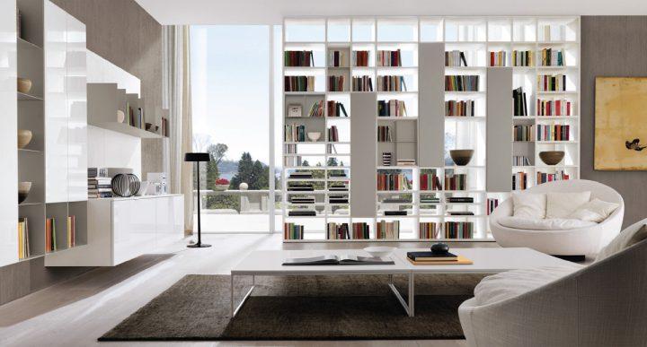 Moderní obývací pokoj s puncem luxusu