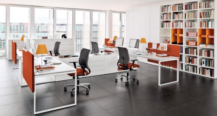 Kancelář jako příjemné pracovní místo